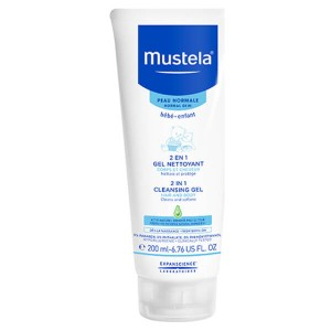 MUSTELA 2-IN-1 CLEANSING GEL 6.76 OZ.