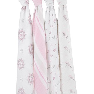 ADEN + ANAIS CLASSIC SWADDLE 4 PACK