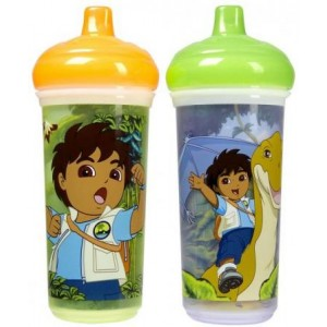 MUNCHKIN Diego 9oz Spill Proof Cup 2pk