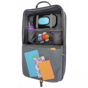 BRICA I-HIDE CAR SEAT ORGANISER WITH TABLET VIEWER