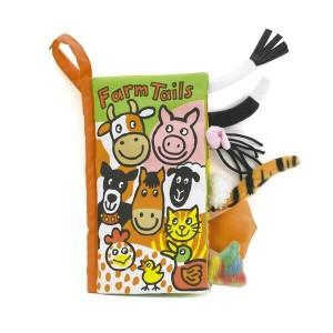 Jellycat Farm Tail Books