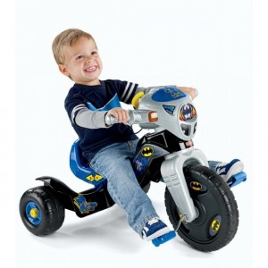 FISHER-PRICE BATMAN LIGHTS N SOUND TRIKE