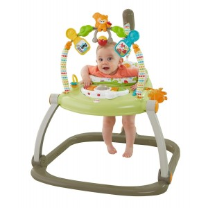 FISHER-PRICE SPACESAVER JUMPEROO WOODLAND