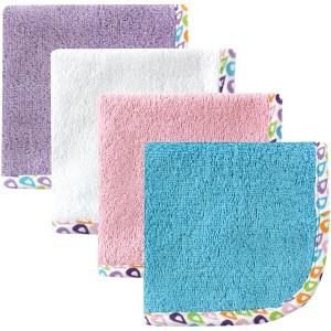HUDSON BABY 4 Washcloths