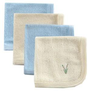 HUDSON BABY Organic Washcloths - 4PK