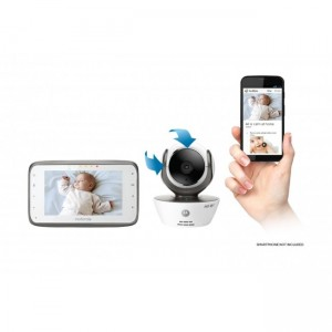 MOTOROLA CONNECT DIGITAL VIDEO BABY MONITOR WITH WIFI CAPABILITY - MBP854