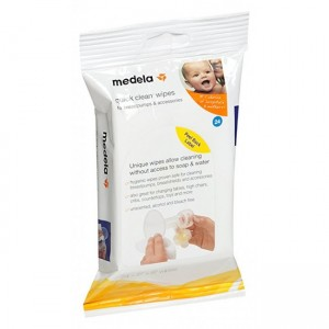 MEDELA QUICK CLEAN BREASTPUMP & ACCESSORY WIPES (24PCS)