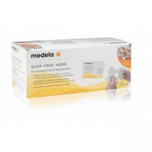 MEDELA QUICK CLEAN BREASTPUMP & ACCESSORY WIPES (40PCS)