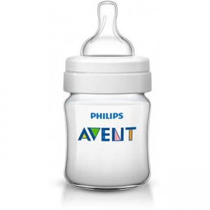 PHILIPS AVENT CLASSIC + FEEDING BOTTLES 4OZ/125ML - 2 PACK