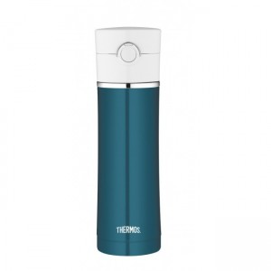 THERMOS STAINLESS STEEL 16 OZ VACUUM INSULATED HYDRATION BOTTLE